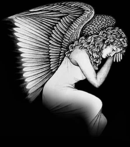 06j Angel Seated